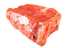 Ακατέργαστο κόντρα φιλέτο βόειου κρέατος Στοκ εικόνα με δικαίωμα ελεύθερης χρήσης