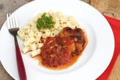 ακατέργαστο μοσχαρίσιο κρέας paupiettes στοκ εικόνες