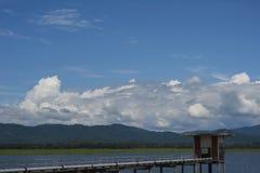 Ακατέργαστο νερό τοπικό σε Ταϊλανδό Στοκ Εικόνες