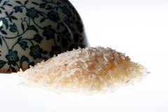 ακατέργαστο ρύζι σιταριών Στοκ Εικόνα