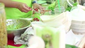 Ακατέργαστο φεστιβάλ τροφίμων φιλμ μικρού μήκους