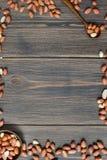 Ακατέργαστο φυστίκια ή arachis Στοκ εικόνες με δικαίωμα ελεύθερης χρήσης
