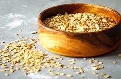 Ακατέργαστο Oatmeal Στοκ εικόνες με δικαίωμα ελεύθερης χρήσης
