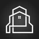ΑΚΙΝΗΤΗ ΠΕΡΙΟΥΣΙΑ ΥΦΟΥΣ ΤΕΧΝΗΣ ΓΡΑΜΜΩΝ & ΛΟΓΟΤΥΠΟ ΕΠΙΧΕΙΡΗΣΗΣ ΥΠΟΘΗΚΩΝ Στοκ εικόνες με δικαίωμα ελεύθερης χρήσης