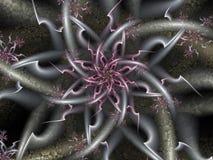 Ακιδωτό Fractal σχέδιο Στοκ Εικόνα