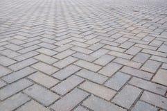 Ακολουθήστε το δρόμο τούβλου Στοκ Φωτογραφία