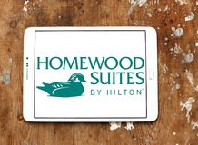 Ακολουθίες Homewood από Hilton το λογότυπο στοκ εικόνες με δικαίωμα ελεύθερης χρήσης