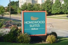 Ακολουθίες Homewood από Hilton στοκ φωτογραφία με δικαίωμα ελεύθερης χρήσης
