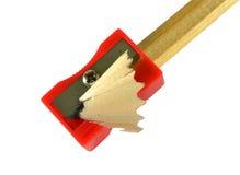 Ακονίστε τη ξύστρα για μολύβια Στοκ Εικόνες