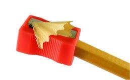 Ακονίστε τη ξύστρα για μολύβια Στοκ φωτογραφία με δικαίωμα ελεύθερης χρήσης