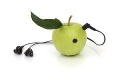 ακουστικά μήλων Στοκ φωτογραφία με δικαίωμα ελεύθερης χρήσης