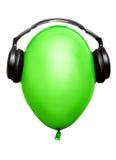ακουστικά μπαλονιών Στοκ φωτογραφία με δικαίωμα ελεύθερης χρήσης