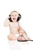 ακουστικά μωρών μικρά Στοκ εικόνες με δικαίωμα ελεύθερης χρήσης