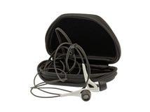 ακουστικά περίπτωσης Στοκ Εικόνες