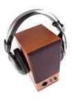 ακουστικά συστήματα Στοκ Εικόνα