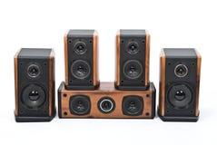 ακουστικά συστήματα Στοκ Φωτογραφία