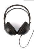 ακουστικά σύγχρονα πέρα από το λευκό Στοκ φωτογραφία με δικαίωμα ελεύθερης χρήσης