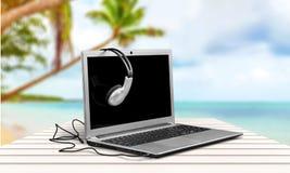 Ακουστικά Στοκ φωτογραφία με δικαίωμα ελεύθερης χρήσης