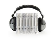 ακουστικά Cd Στοκ Φωτογραφίες