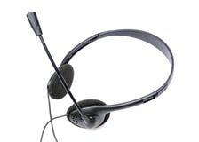 ακουστικά mic στοκ εικόνα