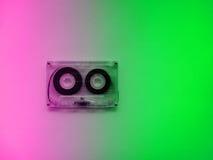 Ακουστικές κασέτες για το όργανο καταγραφής Στοκ φωτογραφίες με δικαίωμα ελεύθερης χρήσης