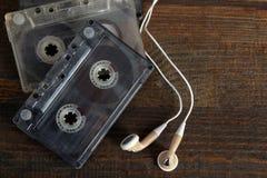 Ακουστικές κασέτες Στοκ φωτογραφίες με δικαίωμα ελεύθερης χρήσης