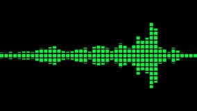 Ακουστική άνευ ραφής ζωτικότητα εξισωτών απεικόνιση αποθεμάτων