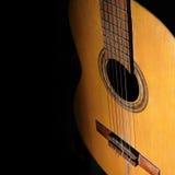 ακουστική κιθάρα ανασκόπησης στοκ εικόνα με δικαίωμα ελεύθερης χρήσης