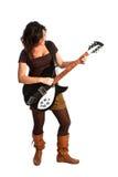 ακουστική κιθάρα κοριτ&sigm Στοκ εικόνα με δικαίωμα ελεύθερης χρήσης