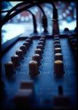 Ακουστικοί έλεγχοι Στοκ Εικόνες