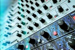 Ακουστικοί επεξεργαστές αποτελεσμάτων Στοκ φωτογραφία με δικαίωμα ελεύθερης χρήσης