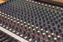 Ακουστικός αναμίκτης Στοκ εικόνα με δικαίωμα ελεύθερης χρήσης