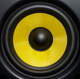 Ακουστικός στενός επάνω ομιλητών Στοκ εικόνες με δικαίωμα ελεύθερης χρήσης