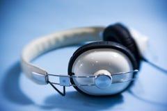ακουστικό αναδρομικό Στοκ Εικόνες