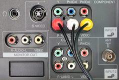 ακουστικό βίντεο Στοκ εικόνες με δικαίωμα ελεύθερης χρήσης