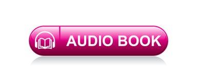 Ακουστικό κουμπί βιβλίων ελεύθερη απεικόνιση δικαιώματος
