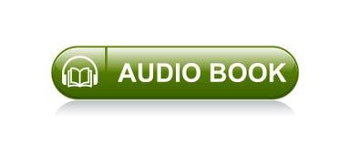 Ακουστικό κουμπί βιβλίων απεικόνιση αποθεμάτων