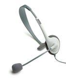 Ακουστικό με ένα μικρόφωνο στοκ φωτογραφία με δικαίωμα ελεύθερης χρήσης