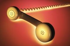 Ακουστικό τηλεφώνου στοκ φωτογραφία με δικαίωμα ελεύθερης χρήσης