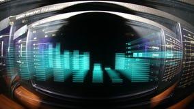 Ακουστικό faze οθόνης διανυσματική απεικόνιση