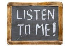 Ακούστε με FR Στοκ εικόνα με δικαίωμα ελεύθερης χρήσης