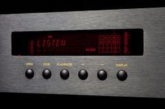 Ακούστε μηχάνημα αναπαραγωγής CD Στοκ Φωτογραφία