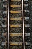 ακολουθήστε το τραίνο Στοκ Εικόνα