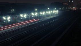 ακολουθήστε το τραίνο στοκ εικόνα με δικαίωμα ελεύθερης χρήσης