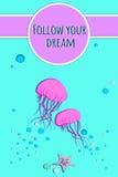 Ακολουθήστε το όνειρό σας Στοκ Φωτογραφία
