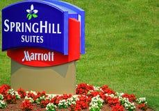 Ακολουθίες SpringHill Marriott Στοκ Φωτογραφίες