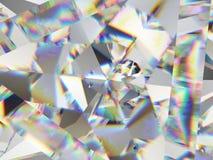 Ακραία κινηματογράφηση σε πρώτο πλάνο και καλειδοσκόπιο δομών πολύτιμων λίθων ελεύθερη απεικόνιση δικαιώματος
