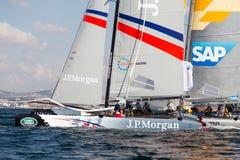 ακραία σειρά ναυσιπλοΐα&sig Στοκ Φωτογραφίες
