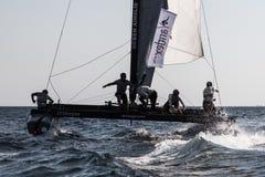 ακραία σειρά ναυσιπλοΐα&sig Στοκ Φωτογραφία
