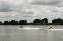 Ακραίος αθλητισμός στον ποταμό στοκ φωτογραφίες